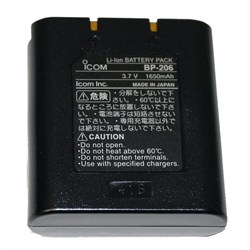 Аккумулятор  Icom BP-206 - фото 10618